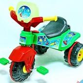 Велосипед трехколесный Kinder Way, от 2-4года. Гномик