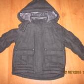 Пальто  Marks&Spencer для мальчика 1-2 года