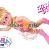 Интерактивная кукла, пупс я умею плавать Baby Born Zapf Creation 818725