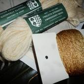 Набор для вышивки  натуральная шерсть