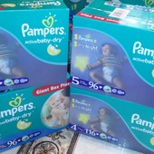 Pampers active baby 4,5