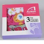 Наборы трусиков для девочек -  в коробке 3 штуки, для аукциона - размер на выбор