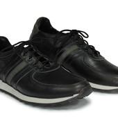 мужские спортивные туфли кроссовки кеды натуральная кожа 3 моделей