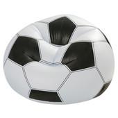 Надувное кресло Футбольный мяч Intex 68557 (108х110х66 см.)