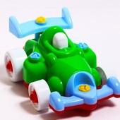 Конструктор - машинка Гонка с инструменты Toys Plast, Украина