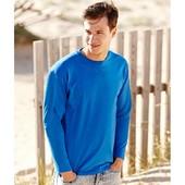 Мужские футболки с длинным рукавом fruit of the loom
