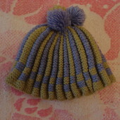 шапка вязаная 46-50см