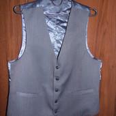 Серая жилетка - 50 размер Украина