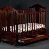 """Детская кроватка  с маятником """"Napoleon New"""""""