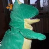 Игрушка перчатка лягушка для кукольного театра музыкальная