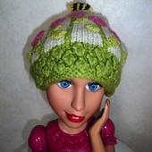 Вязанная шапка на 5 лет и старше