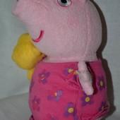 Peppa Pig Свинки Пеппа маленькая с любимы тедди