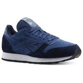 Мужские кроссовки Reebok Classic Leather - темно-синие