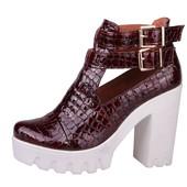 Ботильоны, туфли из натуральной кожи Тренд 2016года