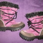 Детские зимние сапоги, ботинки. рр 29