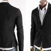 Мужской приталенный пиджак  3248