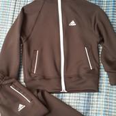 Спортивный костюм Adidas эластик дайвинг, размеры 122-140, один на выбор.черный, укрпочта 15 грн.