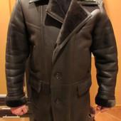 Мужская кожанная зимняя куртка р.48-50.Доставка бесплатная.