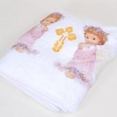 Крыжмы, махровые покрывала, полотенца для малышей