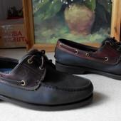 № 1560 Топ-сайдеры туфли мокасины Timberland 43 кожа