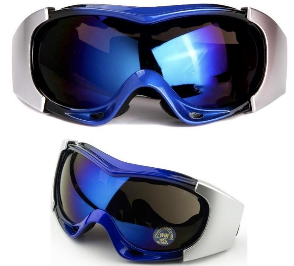 Маска горнолыжная/лыжные очки spyder pro с двойным стеклом: синий (blue) фото №1