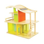Hape Sunshine Dollhouse конструктор домик из бамбука