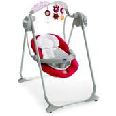 Кресло-качалка   для малышей Chicco Polly Swing Up Spring