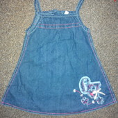 Платье для девочки.  р.  80