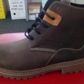 Зимние мужские стильные ботинки