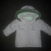 Зимняя курточка  р. 74   86см