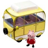 Игровой набор Пеппа-Веселый кемпинг(автобус, фигурка Пеппы )