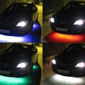 Под заказ - $34. Подсветка днища многоцветная 120/90см. RGB+пульт, противоударная, влагостойкая