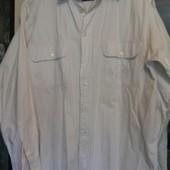 Рубашка стильная джинс белый