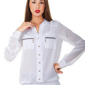 """Женская блуза """"Николь"""" с длинным рукавом"""
