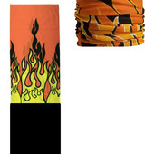 Бафф (Buff)- многофункциональный аксессуар/головной убор: зимний флис Языки пламени