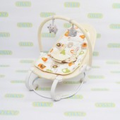 Шезлонг Baby Tilly Bt-bb-0004 Beige, бежевый
