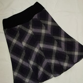 Теплая юбка в клетку Jennifer Taylor ( М )