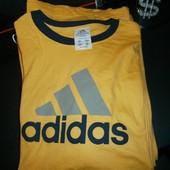 Adidas хлопковая футболка made in mexico xl-2xlp новая