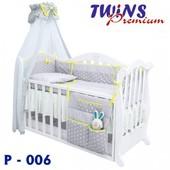 Детский постельный комплект Twins Premium (6/8) 8 элементов