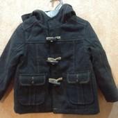 Демисезонное пальто на мальчика р.92 98