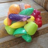 Развивающая игрушка - набор овощей