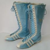 Спортивные кожаные сапоги Adidas Santos 40р