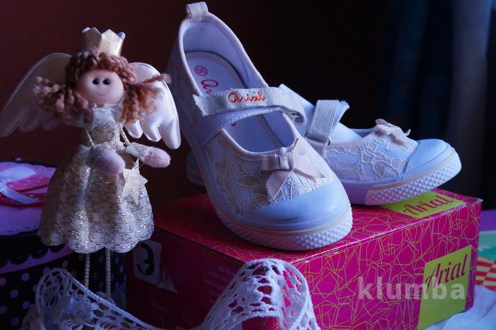 Туфли кеды  для девочки летние новые, размер 30 фото №1
