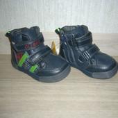 Демисезонные ботинки для мальчиков Clibee (Румыния) размер 20