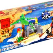 Конструктор Brick Пираты 314 ,95 деталей