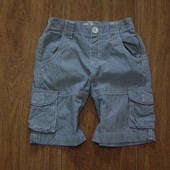 Стиляжные летние котоновые шортики от Early Days, размер на бирке 18-23 месяца, реально до 4-х лет.