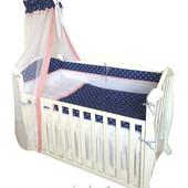 Детская постель Twins Premium P-011 Sailor 7 эл