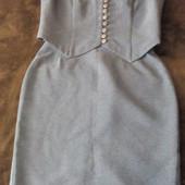 Женский костюм жилет и юбка, размер L