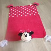 Детский плед - игрушка Minnie Mouse.
