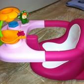 Детский стульчик 2 в 1 место для купания и развивающий столик «Лягушонок» Cotoons Smoby  Франция